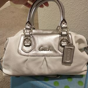 Coach Ashley convertible satchel